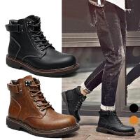 承发 靴子男士马丁靴时尚男靴工装靴子男鞋 12689