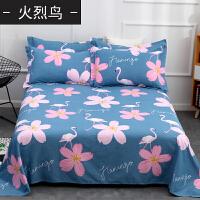 20191106090210779加厚 纯棉床单单件斜纹全棉布1.5米1.8双人床用学生宿舍单人
