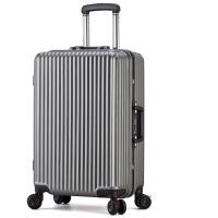 铝框拉杆箱万向轮红色行李箱海关锁密码箱新娘结婚箱子陪嫁箱皮箱