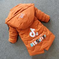 男童棉衣外套儿童男孩中长款宝宝棉袄
