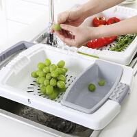 塑料砧板 创意切蔬菜案板2020新款家用多功能水槽沥水菜板塑料砧板沥水切菜板