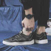 秋季男鞋子黑色一脚蹬懒人帆布鞋男士休闲鞋韩版板鞋学生布鞋潮鞋