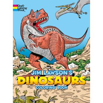 Jim Lawson's Dinosaurs Coloring Book 按需印刷商品,15天发货,非质量问题不接受退换货。