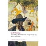 【预订】Irish Writing: An Anthology of Irish Literature in Engl