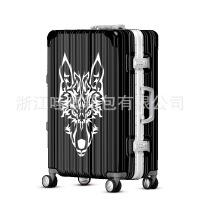2018新款个性涂鸦卡通拉杆箱男女登机行李箱万向轮学生旅行箱