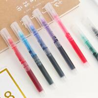 【一元秒杀】白雪彩色走珠笔 161直液式彩色走珠笔学生签字笔 0.5全针管中性笔