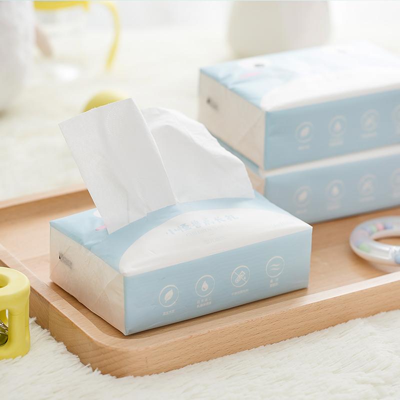 【网易严选初夏巨惠 2件75折】婴儿超柔乳霜纸巾100抽*3包添加乳霜保湿成分,肌肤的至柔体验