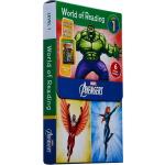 迪士尼漫威系列 英文原版分级读物 World of Reading Avengers Boxed Set 6册盒装