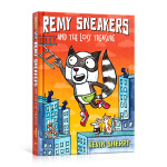 进口英文原版 Remy Sneakers and the Lost Treasure 儿童启蒙早教益智图画正版书 精装