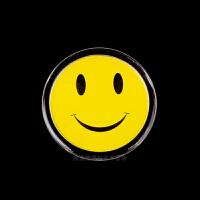 笑脸表情胸章多表情大眼睛徽章胸针奖励胸牌卡通可爱胸牌 单个