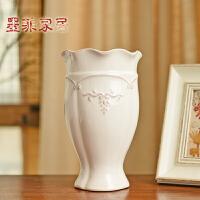 墨菲创意时尚客厅落地花瓶现代简约摆件家居装饰品陶瓷干花插花器