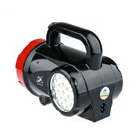 LED强光手电筒 消防应急灯家用充电探照灯户外 手提野营灯