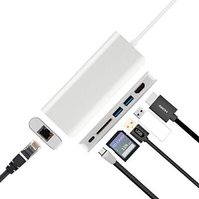 拓展坞微软Surface Go /Book2笔记本扩展坞USB-C连接网线转接头投影仪
