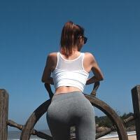 防震运动文胸背心女夏跑步紧身内衣网纱拼接速干健身bra