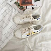 帆布鞋女学生韩版秋冬季ulzzang百搭平底港风chic原宿街拍ins板鞋