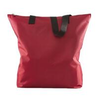 男女尼龙包女包大包时尚拉链购物袋帆布单肩包手提牛津布包袋 酒红色 210