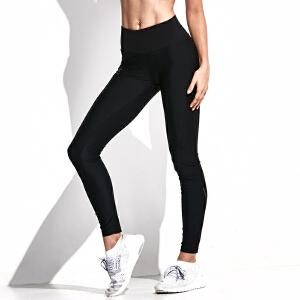 美国HOTSUIT运动紧身裤女弹力瑜伽健身裤高腰运动长裤压缩裤6692301
