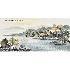 吉林省美术家协会会员 杨洪亮《颐和园》SS3670