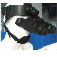 白俄罗斯YUKON猫眼GS1x20防水双筒头盔红外夜视仪 红外单筒头盔夜视仪 夜视望远镜
