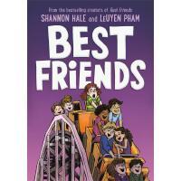 英文原版 好朋友 纽伯瑞奖作家 章节桥梁漫画书 Best Friends 学习社交技巧与解决冲突 Real Friend