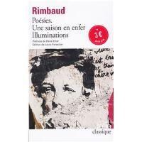 法语原版 兰波诗集 Poesies Rimbaud Saison 超现实主义诗歌 再版