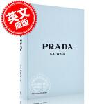 现货 普拉达T台秀:**时装T台走秀系列 时装摄影集 英文原版 服装设计书精装 Prada Catwalk: The