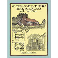 100 Turn-of-the-Century Brick Bungalows with Floor Plans (【
