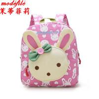 【满200减100】茉蒂菲莉 双肩包 女童新款卡通儿童幼儿园手提背包韩版男童1-3岁宝宝帆布书包