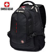 【支持礼品卡支付】SWISSGEAR瑞士军刀双肩包 男女商务笔记本电脑包15.6英寸防泼水旅行背包高中学生书包 SA-