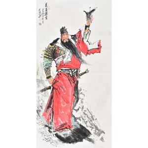 中国国家画院 康一生《义勇腾云》RW0830