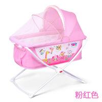 【支持礼品卡】婴儿床儿童床新生儿宝宝用品BB床摇篮可折叠游戏床带蚊帐 e4n