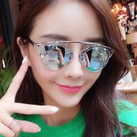 墨镜女潮 眼镜 时尚偏光太阳镜女士圆脸复古眼镜