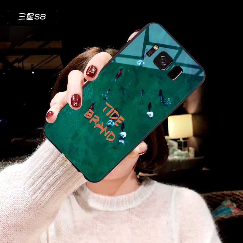 三星s8手机壳女祖母绿毛绒s8plus保护套s8+全包防摔galaxy s8+潮 S8 祖母绿(单壳)