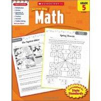Scholastic Success with Math, Grade 5 数学成绩5年级(学乐成功,数学)【英文原版