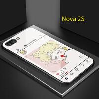 卡通可爱华为nova3手机壳美少女战士nova4水冰月nova2s个性nova3i/3e创意玻璃畅享 Nova2S 美