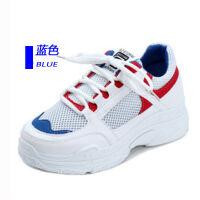 鞋子女学生运动鞋女透气网面夏季女鞋平底韩版网红老爹鞋女单鞋