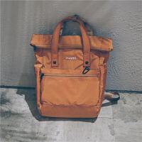 韩版日系2018新款双肩包男女防水两用手提背包旅行初中生校园书包