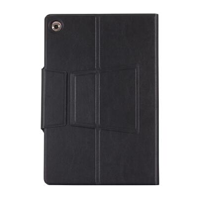华为M5平板电脑保护套10.8寸蓝牙键盘M3青春版10.1寸皮套防摔Pro 【华为M5 10.8寸】黑色
