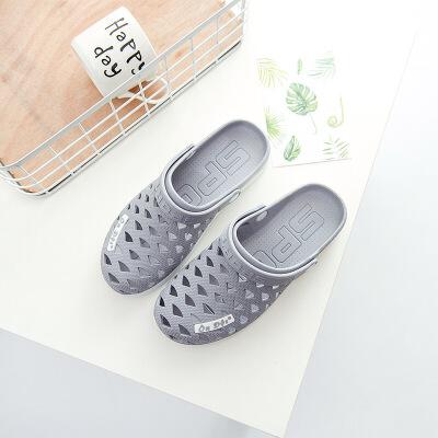 越南进口越南温突凉鞋橡胶男女凉鞋户外凉鞋柔软防滑女凉拖鞋沙滩鞋洞洞鞋