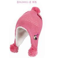 冬男童帽子秋冬加�q�o耳帽小孩冬季毛�帽潮迪士尼�和�����帽子