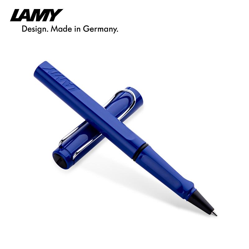 德国lamy凌美签字笔 狩猎者 布加迪蓝色 宝珠笔 签字笔 走珠笔 学生商务签字笔 凌美签字笔礼品 书写顺畅流利 秘密花园 书写顺畅 免邮费 送笔套