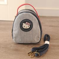 手提包女款手拎包卡通帆布包便当包手提包学生女孩带饭包袋女包妈咪包