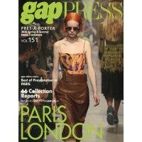 现货 进口日文 时尚发布 巴黎伦敦 2020 S/S gap PRESS vol.151 PARIS&LONDON