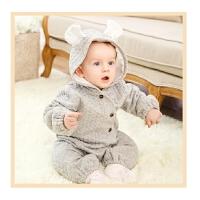 婴儿连体衣服宝宝冬季爬爬服冬装