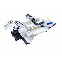 启蒙拼插太空飞船航天系列飞机模型拼装积木益智儿童玩具礼物