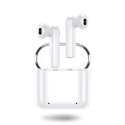 机乐堂(JOYROOM) 双耳立体声蓝牙耳机迷你小巧带充电仓商务耳机 白色【中性产品和包装】 新品上新,多多惠顾