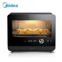 美的(Midea)蒸烤一体机家用台式多功能电烤箱烘焙电蒸箱蒸汽烤箱二合一体机 PS20C1