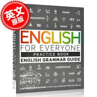 现货 人人学英语 英语语法指南练习册 英文原版English for Everyone English Grammar