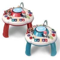 婴儿游戏桌早教玩具台多功能学习桌手拍鼓儿童教具1-3岁