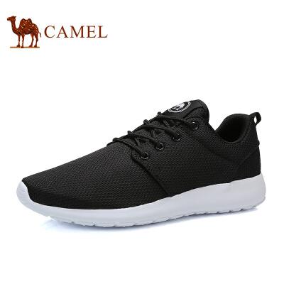 骆驼牌男鞋时尚情侣休闲鞋透气运动跑步网鞋男女椰子鞋